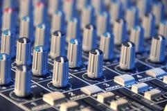 Het Detail van de mixer Royalty-vrije Stock Foto's