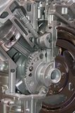 Het Detail van de motor Royalty-vrije Stock Afbeeldingen
