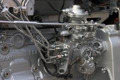 Het detail van de motor royalty-vrije stock afbeelding