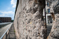 Het Detail van de Muur van Berlijn Royalty-vrije Stock Afbeeldingen