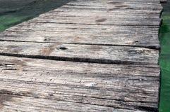 Het Detail van de pier royalty-vrije stock afbeeldingen