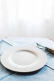 Het detail van de restaurantlijst Stock Afbeeldingen