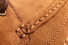 Het Detail van de schoen Royalty-vrije Stock Afbeeldingen