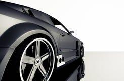 Het detail van de sportwagen Stock Afbeelding