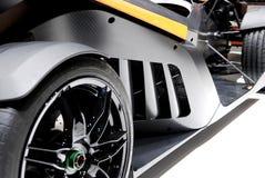 Het detail van de sportwagen stock foto's