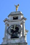 Het detail van de Stadhuisklok Stock Fotografie