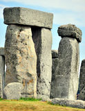 Het detail van de steen henge stock afbeelding