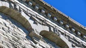 Het Detail van de Steen van de besnoeiing Stock Foto's
