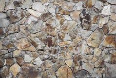 Het detail van de steenmuur van een kant van een gebouw met unieke eigenschappen Royalty-vrije Stock Fotografie