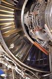 Het detail van de straalmotor Stock Afbeeldingen
