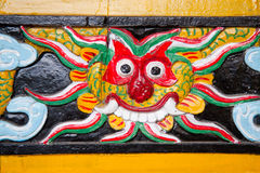 Het detail van de tempel royalty-vrije stock foto's