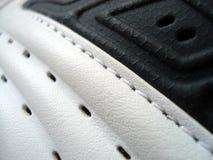 Het detail van de tennisschoen Stock Foto