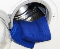 Het detail van de wasmachine Stock Afbeelding