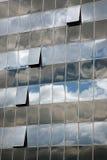 Het detail van de wolkenkrabber stock afbeelding
