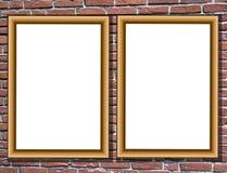 Het detail van de Zaal met omlijstingen stock afbeeldingen