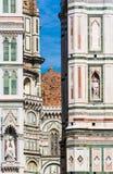 Het detail van Duomo van Florence Stock Afbeelding