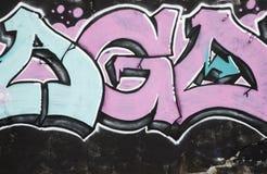 Graffitidetail stock foto
