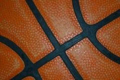 Het detail van het basketbal stock foto