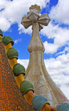 Het detail van het dak Stock Foto's