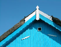Het detail van het dak stock afbeelding