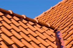 Het detail van het dak Royalty-vrije Stock Afbeeldingen