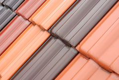 Het detail van het dak Stock Foto