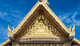 Het detail van het dak van Wat Sothon Royalty-vrije Stock Foto's
