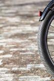 Het detail van het fietswiel royalty-vrije stock afbeeldingen