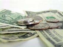 Het detail van het geld Stock Afbeelding