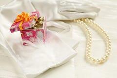 Het detail van het huwelijk Stock Foto's