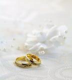 Het detail van het huwelijk Stock Foto
