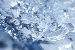 Het detail van het ijs Stock Foto