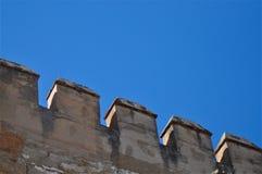 Het Detail van het kasteel Stock Afbeeldingen