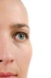 Het detail van het oog Stock Fotografie