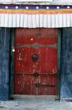Het detail van het Paleis van Tibet Potala Stock Fotografie