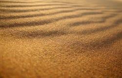 Het Detail van het Patroon van het zand royalty-vrije stock fotografie