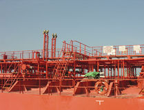 Het detail van het schip Royalty-vrije Stock Foto