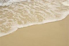 Het detail van het strand Stock Foto's