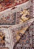 Het detail van het tapijt Royalty-vrije Stock Foto