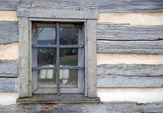 Het Detail van het venster Stock Afbeelding