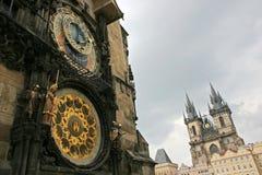 Het detail van Praag Stock Foto