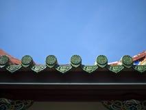 Het Detail van het tempeldak Stock Fotografie