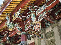 Het Detail van het tempeldak Royalty-vrije Stock Afbeelding