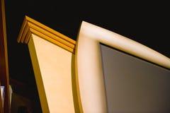 Het Detail van TV Stock Foto