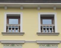 Het detail van vensters Stock Foto