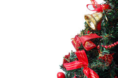 Het detailachtergrond van de kerstboom Royalty-vrije Stock Afbeeldingen