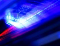 Het diagonale vervoerlicht sleept de abstractie van het motieonduidelijke beeld Stock Fotografie