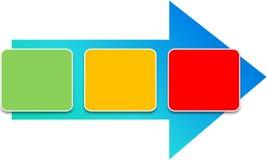 Het diagram van het proces Royalty-vrije Stock Afbeeldingen