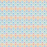 Het diamantrek hangt kleurrijk Hannukah-ster naadloos patroon Stock Foto