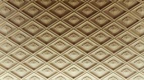 Het diamantvormige plafond vormen Stock Afbeelding